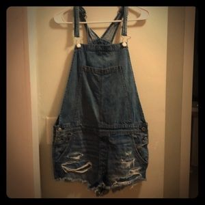 American Eagle Outfitters Shorts - American Eagle Overalls